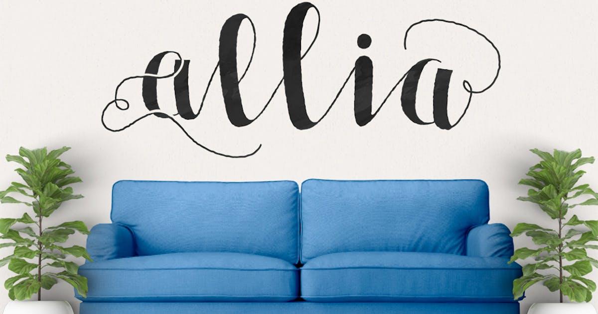 Download Allia Typeface by maulanacreative