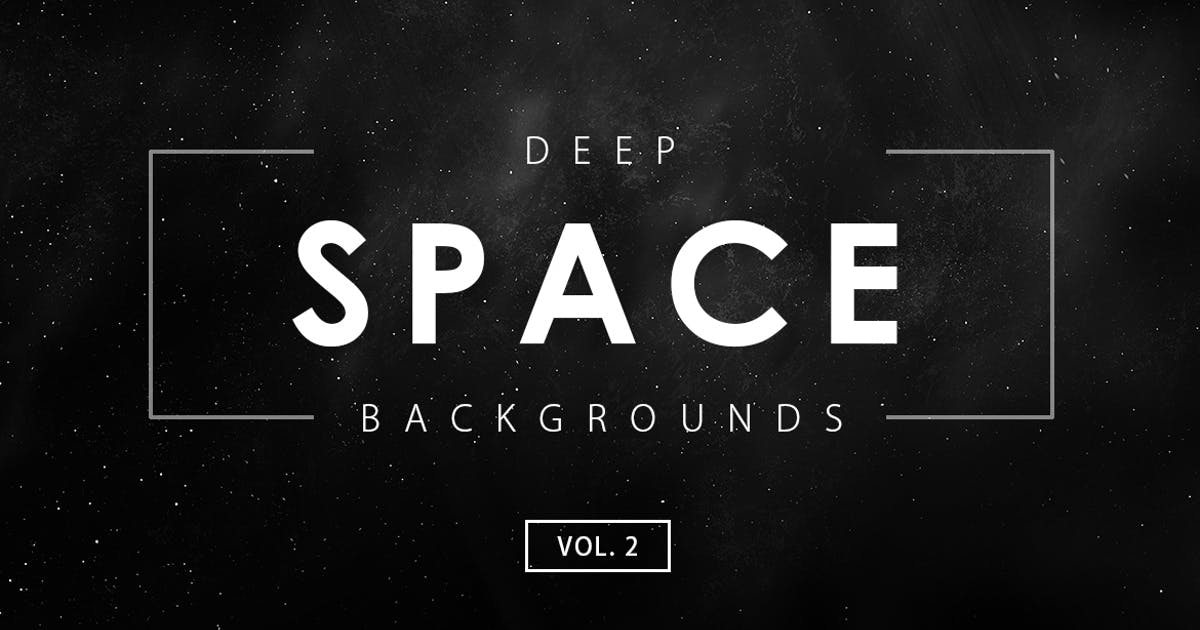 Deep Space Backgrounds Vol. 2 by M-e-f