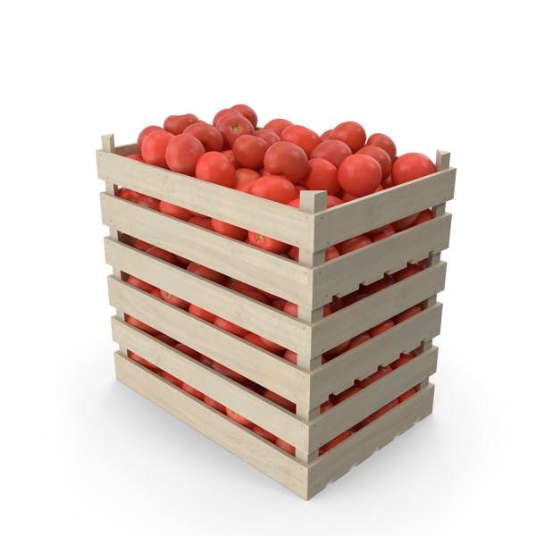 Kisten von Tomaten