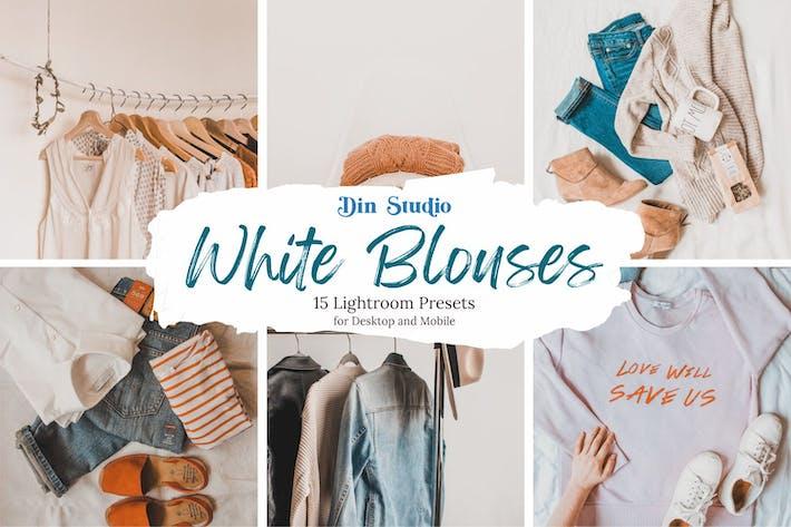 Thumbnail for White Blouses Lightroom Presets