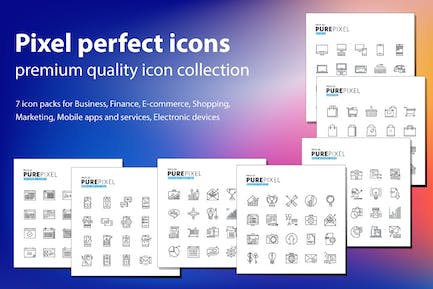 Pure Pixel Icons