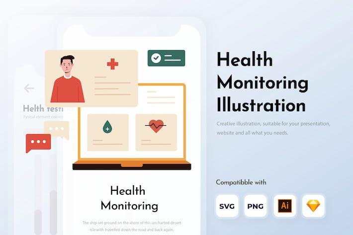Gesundheitsüberwachung