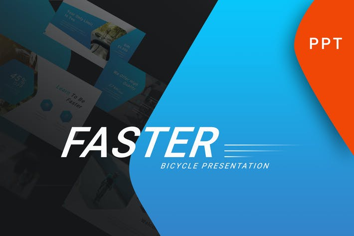 Faster - Sport Powerpoint Template