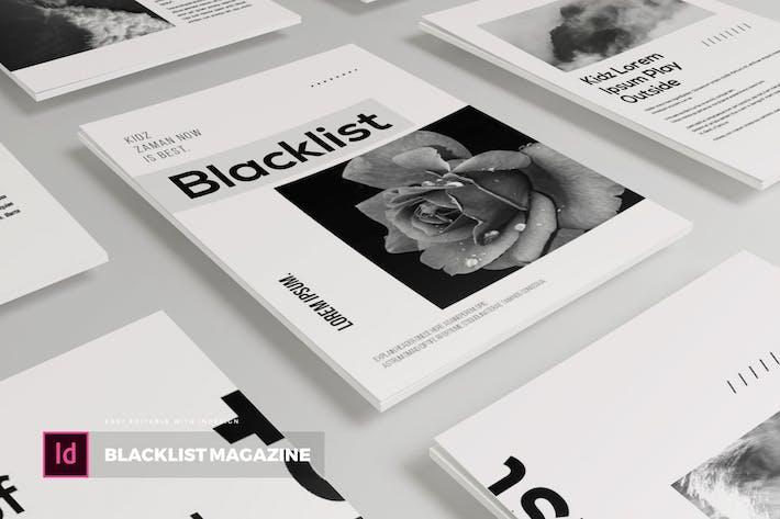 Thumbnail for Liste noire | Modèle Magazine