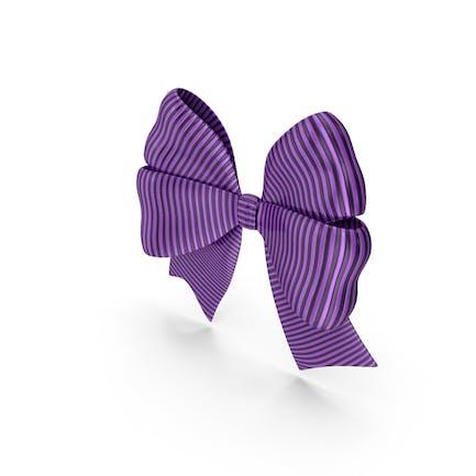 Ribbon Bow Gift Decorative Purple