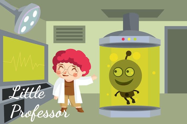 Little Professor - Ilustración