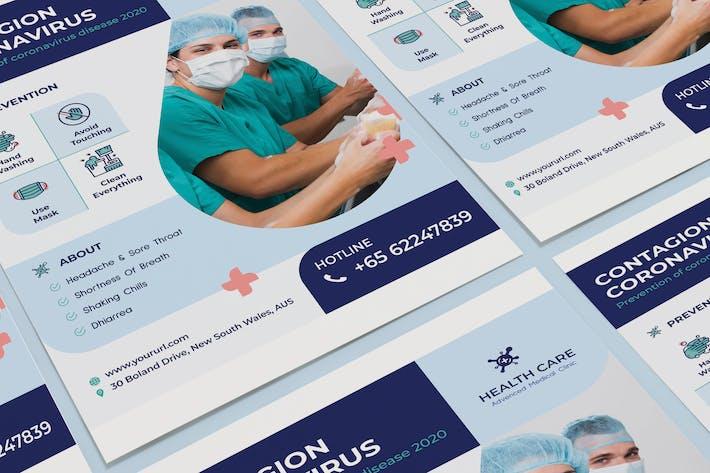 Thumbnail for Coronavirus medical poster