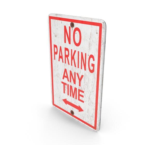 """Schild """"No Parking"""
