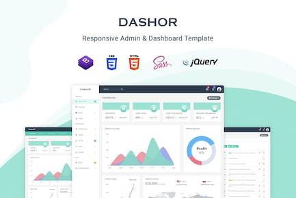 Dashor - Admin Dashboard Template