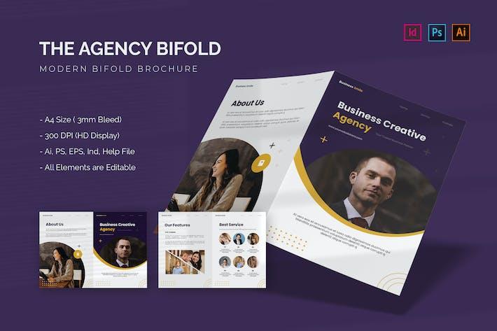 Business Agency - Bifold Brochure