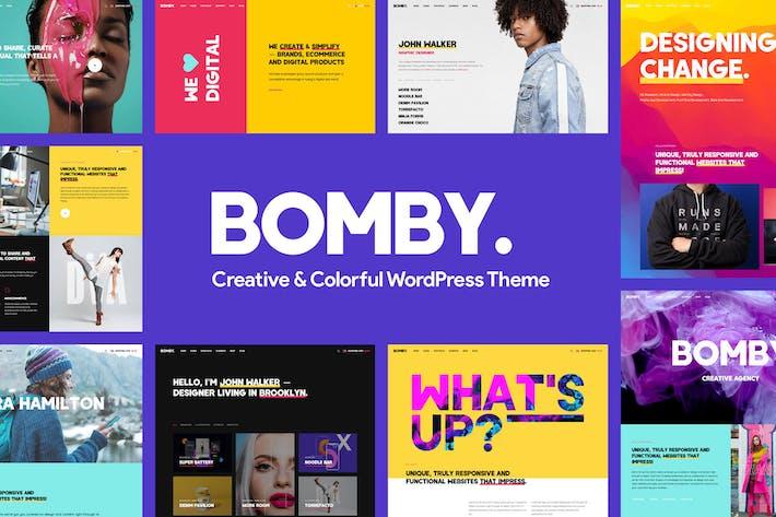 Thumbnail for Bomby - Creative Multi-Purpose WordPress Theme