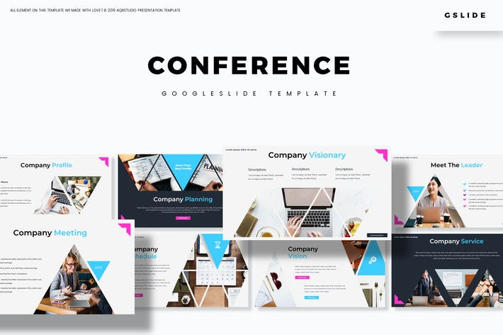 Thumbnail for Conference - Google Slides Template