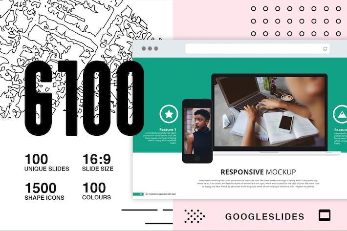 Thumbnail for Презентация слайдов G100 в GoogleSlides