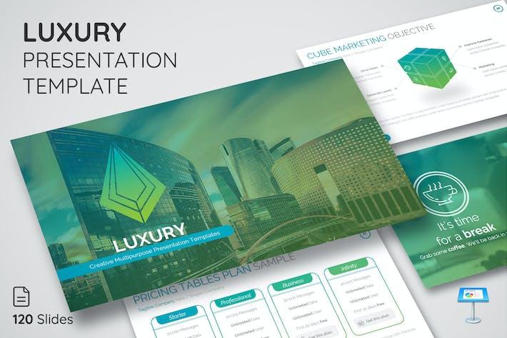 Luxury - Keynote Presentation Template