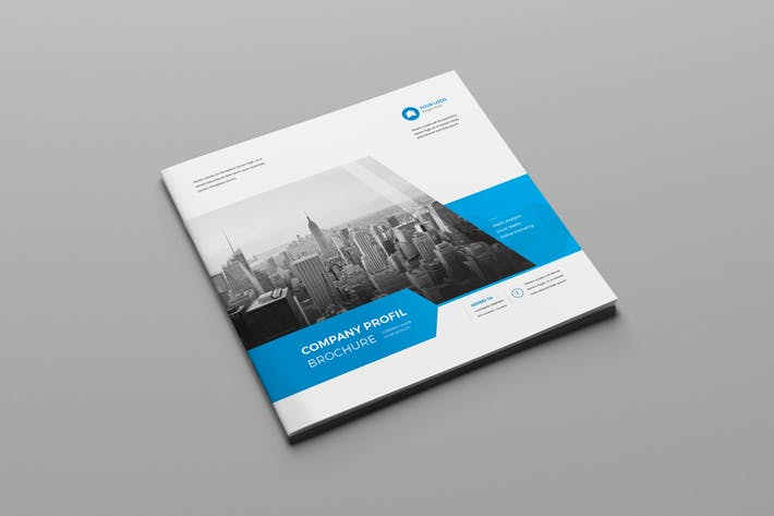 Cover Image For Square Corporate Brochure