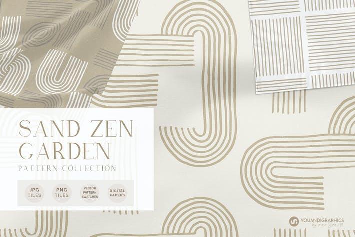 Thumbnail for Sand Zen Garten - Nahtlose Muster