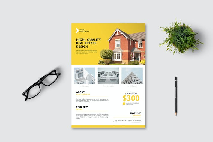 Thumbnail for Real Estate Flyer Vol. 2