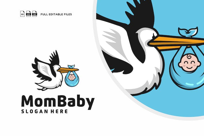 Thumbnail for Widtemp - Baby Logo Template
