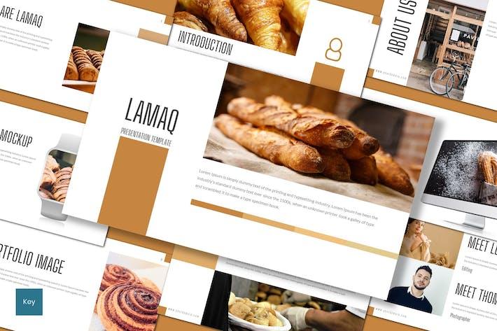Thumbnail for Lamaq - Шаблон Keynote хлебобулочных изделий