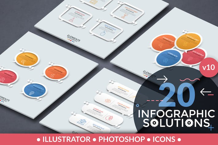 Thumbnail for Infographic Solutions. Part 10