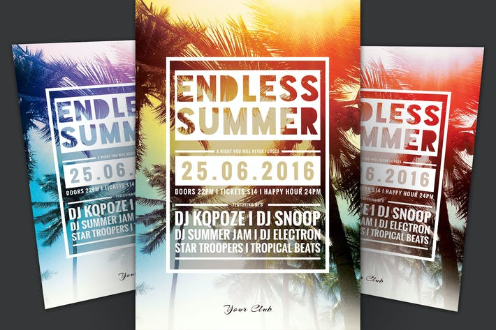 Thumbnail for Endless Summer Flyer