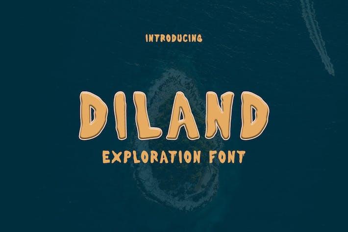 Thumbnail for Diland - Police d'exploration GL