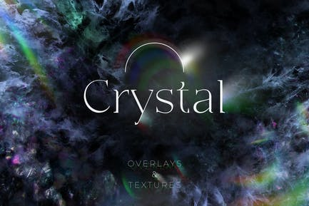 84 Crystal Overlays and Textures