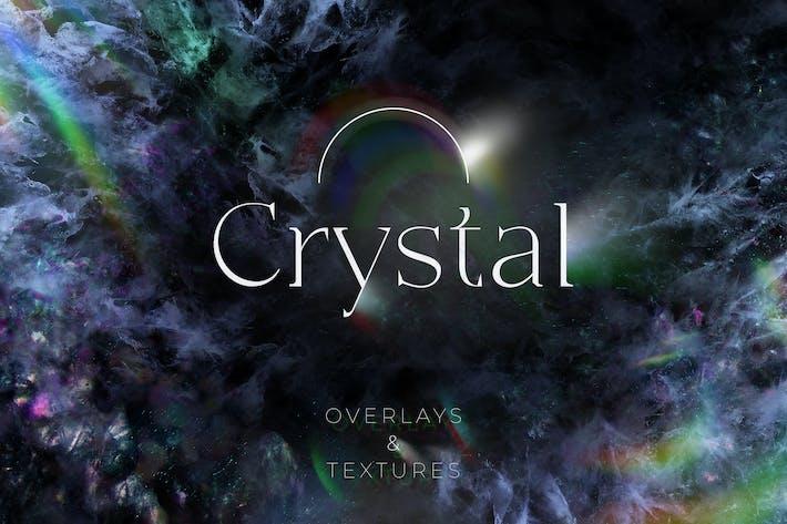 84 KristallOverlays und Texturen