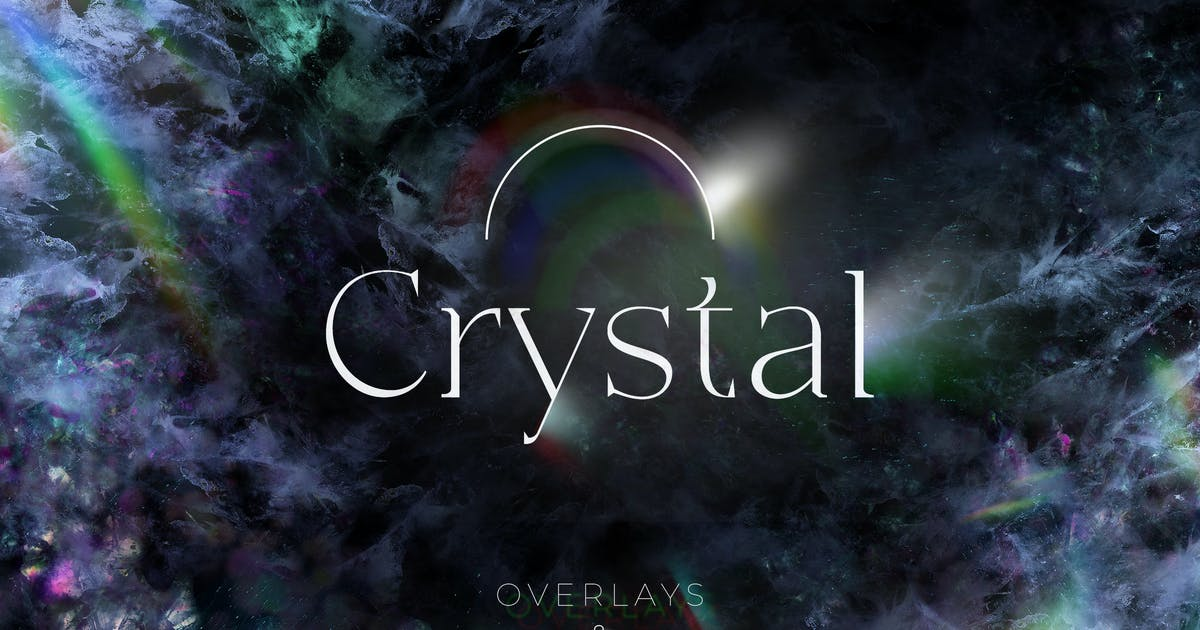 Download 84 Crystal Overlays and Textures by FreezeronMedia