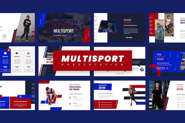 Sport Google Slides Presentation