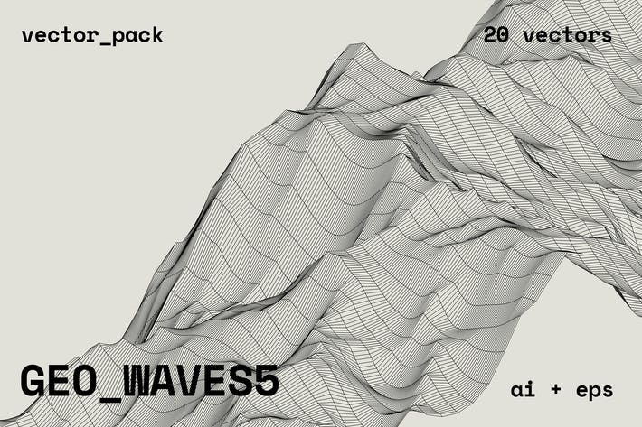 Thumbnail for GEO_WAVES5 Vector Pack