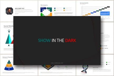 SHOW IN THE DARK Powerpoint