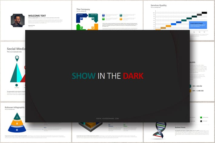 Thumbnail for SHOW IN THE DARK Powerpoint