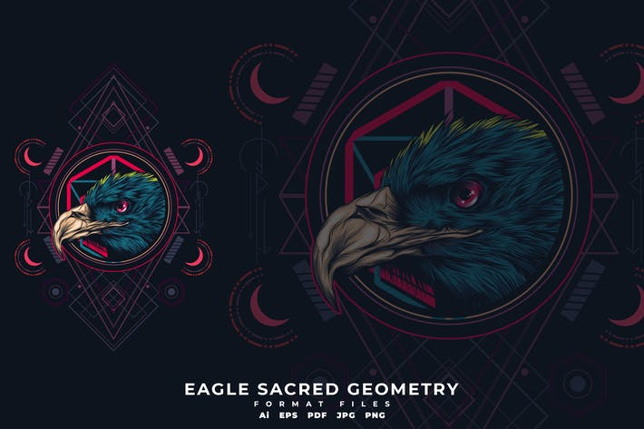 Thumbnail for Eagle Sacred Geometry