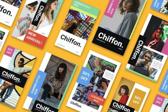 Thumbnail for Chiffon Social Media