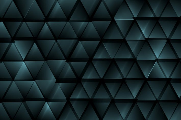 Thumbnail for Dark blue abstract tech triangles background
