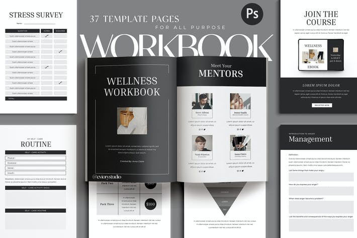 Thumbnail for Wellness - Workbook Creator for Coach