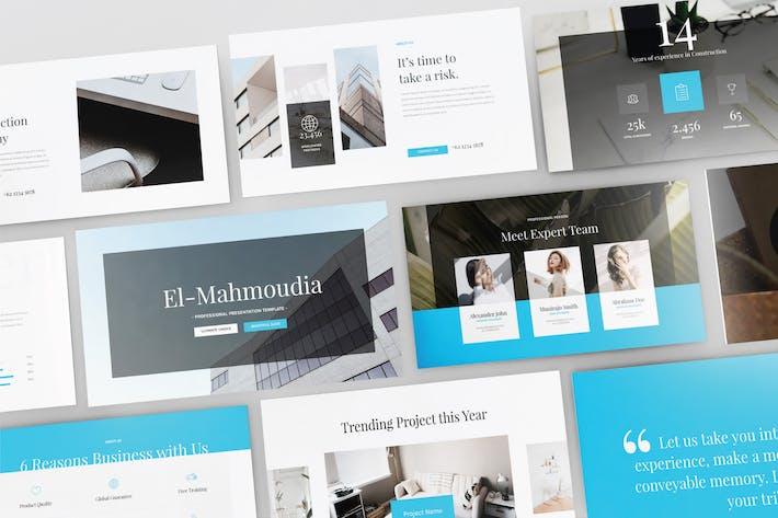 Thumbnail for EL- MAHMOUDIA - Multipurpose Powerpoint  V111