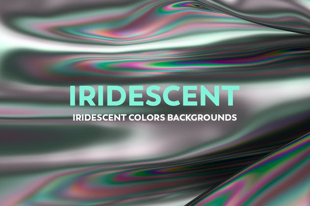 Iridescent Abstract Backgrounds - product preview 0