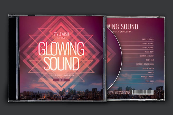 Thumbnail for Glowing Sound CD Cover Artwork