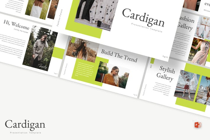Thumbnail for Cardigan - Powerpoint Template