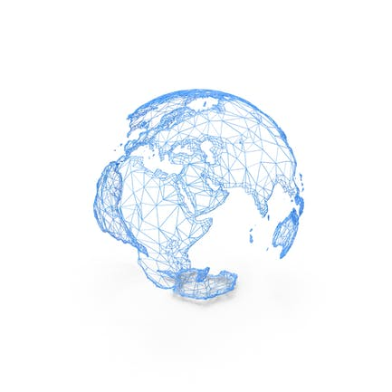 Wire Model of Earth