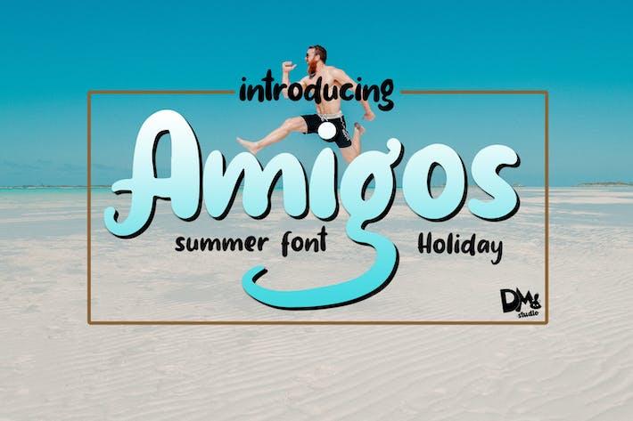 Amigos - Police d'été