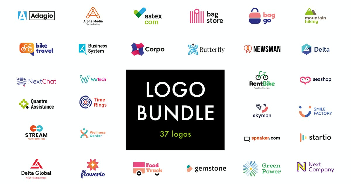 Download Huge Logo Bundle by uispot