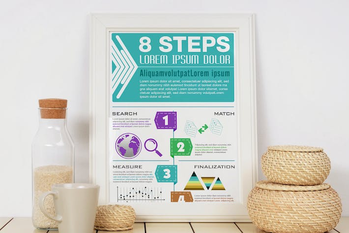 Thumbnail for Modern Infographics Template