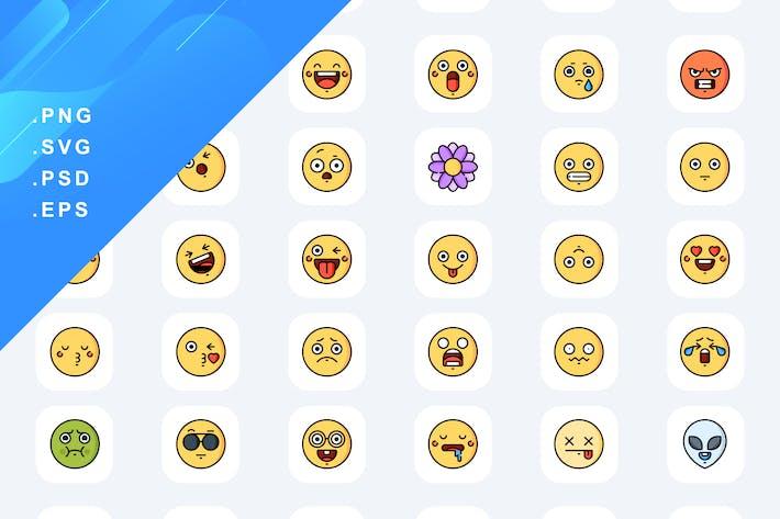 30 EmojiIcons