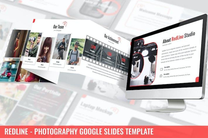Redline - Photography Google Slides Template