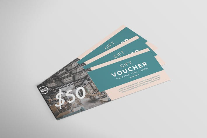 Thumbnail for Restaurant Gift Card - Voucher Design