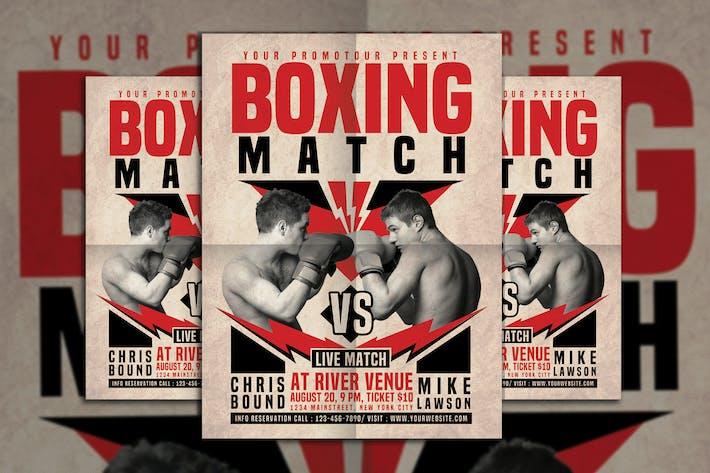 Cover Image For Boxing Match