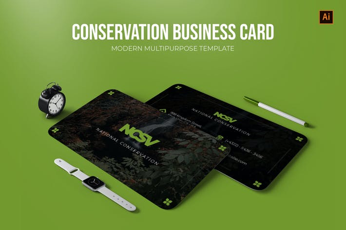 National Conservation - Business Card